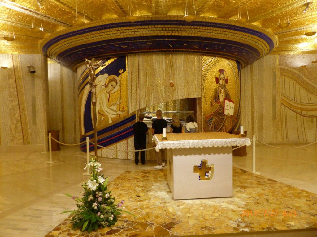 San Giovanni Rotondo tomba di Padre Pio