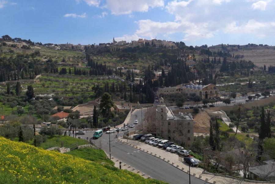 Jeruzsálem, az Olajfák-hegye