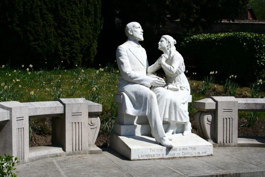 Kis Szent Teréz és édesapja